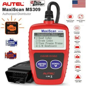 Autel Ms309 Obd2 Auto Scan Tool Diagnostic Code Reader Erase clear Codes Scanner