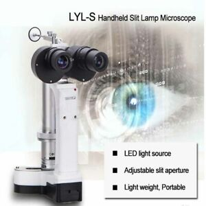 Portable Slit Lamp Lyl s Led Bulb 4 Apertures Total 10x And 16x Magnification
