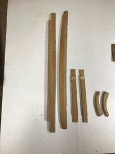 Ford Model A 1930 31 Coupe 6 Pc Wood Kit Awd 1288 Body Wood
