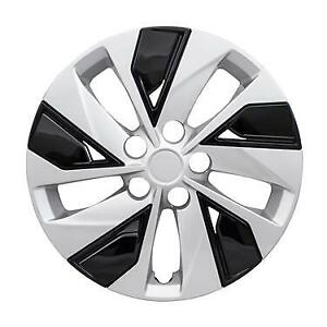 New 16 Hubcap Wheelcover For 2019 2020 Nissan Altima Silver Black