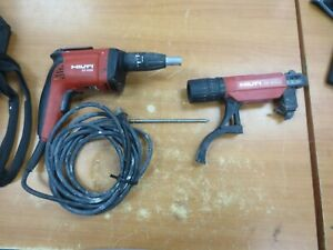 Hilti Sd 4500 With Smi 55 Plus Collated Drywall Screw Gun