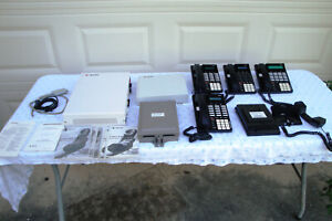 Sprint Protege Ctx Ksu System W Voice Analog Adapter And Five Phones