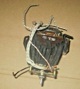 Hickok Tube Tester Model 539a Filament Power Transformer With Filament Switch