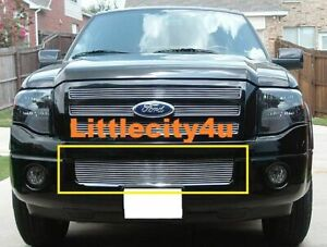 For 2007 2008 2009 10 11 12 13 Ford Expedition Bumper Billet Grille Grill Insert