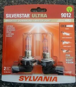 Sylvania Silverstar Ultra 9012 Halogen Dual Pack Brand New Sealed