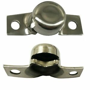 1966 1977 Ford Bronco Tailgate Trunnion Stainless Pair Brand New