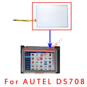 Touch Screen Autel Maxidas Ds708 Touch Screen Panel Spare Part Replacement