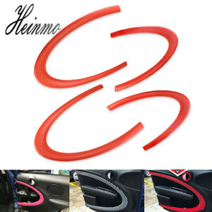 Interior Door Trim Cover Decoration Sticker Abs For Mini Cooper Countryman R60