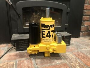 Meyer E47 Snow Plow Pump Reconditioned I Will Buy Your Old Pump Shipping Paid