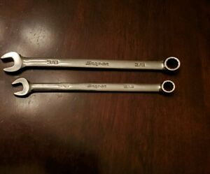 Snap On 5 16 3 8 Combination Wrenchs Lot Of 2