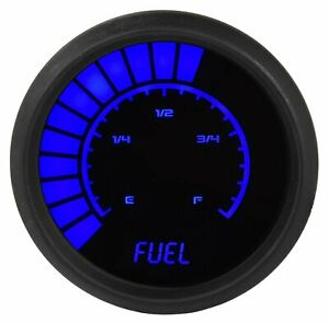 Jegs 41482 Fuel Level Gauge Led Bar Graph 99 Read Out 2 1 16 In Diameter Micro