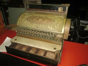 National Cash Register Brass Cash Register 1901 Model 35 See All Photos Local Pu