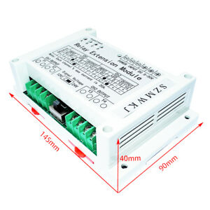 2 channel 4 way Brush Motor Relay Extension Module 5 30v 40a Relay Controller
