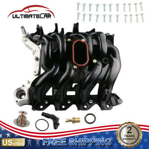 Upper Intake Manifold W Gaskets For Ford F150 F350 E150 E450 Expedition 5 4l V8