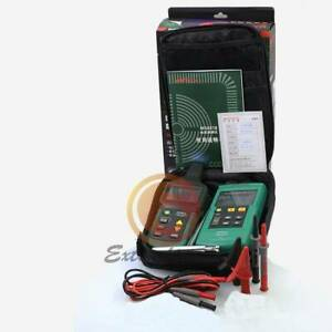 Mastech Wire Cable Finder Locator Network Line Metal Pipe Tester Detector Ms6818