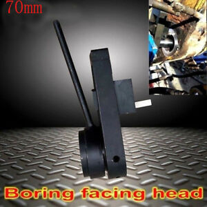 70mm Boring Facing Head For Servo Motor Line Boring Machine Boring Bar Tools New
