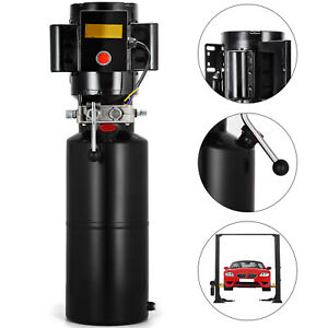 110v Car Lift Hydraulic Power Unit Auto Lifts Hydraulic Pump 2 64gal Car