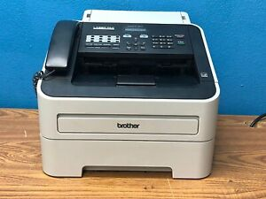Used Brother Fax Copy Machine Laser Fax Super G3 33 6 Kbps Intellifax 2840