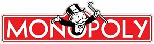 Monopoly Vinyl Sticker For Skateboard Luggage Laptop Tumblers O