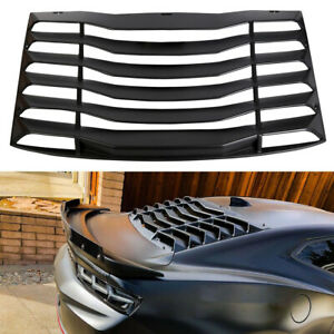 Rear Window Louver Sun Shade Cover For Chevy Chevrolet Camaro 2016 2017 18 19 20