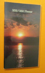 2020 2021 Monthly 2 year Pocket Beach Sunset Planner 6 75x4 Contacts Notes Usa