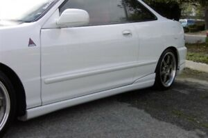 Fits 94 97 Acura Integra Type R Front Lip Side Skirt Free Shippng Us