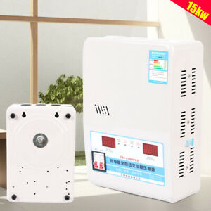 Ac Automatic Voltage Stabilizer 15kw Regulator Power Supply 130 270v To 220v Us