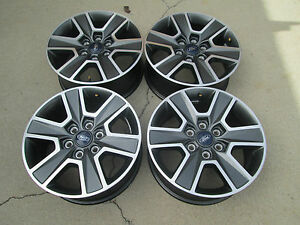 18 Ford F150 Expedition Oem Factory Wheels Rims Fx4 Charcole