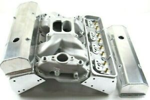 Small Block Chevy 350 400 Aluminum Bare Cylinder Head Package Diy Top End Kit