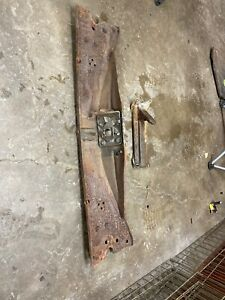 1958 Buick Century Radiator Support Cover With Hood Latch Brace