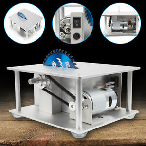 Woodworking Table Saw Bench benchtop Blade Lathe Polisher craft Cutting Tool Usa