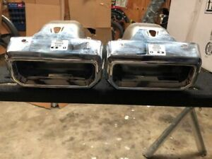 2019 2021 Chevy Silverado Gmc Sierra 1500 Exhaust Bezels Right Left