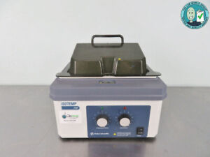 Fisher Isotemp Water Bath 110 With Warranty See Video