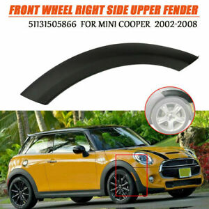 Front Wheel Right Side Upper Fender Arch Cover Trim For Mini Cooper 2002 2008 Us