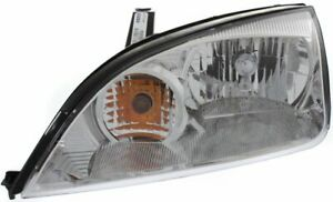 Headlight For 2005 2007 Ford Focus Driver Side W Bulb