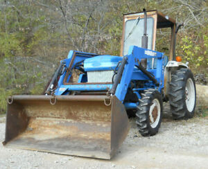 Ford Tractor 1710 W Loader 4wd 26 Hp 12 Speed Roof And Windscreen 1803 Hours