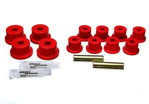 Leaf Spring Bushing Set Rear Energy 1 2101r Fits 86 95 Suzuki Samurai