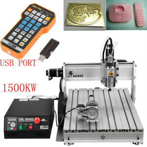 1500w Cnc 6040z Router Usb 4 Axis Engraver Milling Drilling Engraving Machine