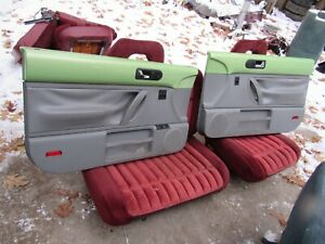 98 09 Vw Beetle Green Door Panels