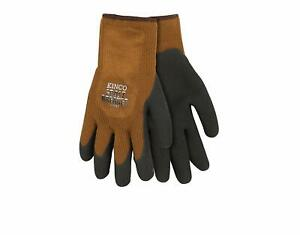 Kinco 1787 xl Mens Frost Breaker Foam Latex Form Fitting Thermal Gripping Gloves