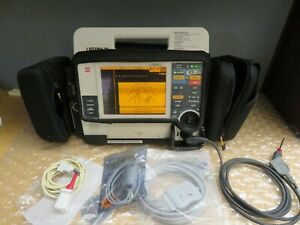 Medronic Lifepak 12 Biphasic 12 Lead Ecg Spo2 Aed Adivisory Pacer Case 17019