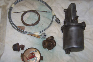 1940 41 Lincoln Continental zephyr Columbia 2 Speed Parts