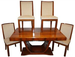 Mid Century Rosewood Extension Dining Table And 4 Chairs Dunbar Herman Miller