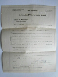 1919 Model T Ford Touring Car Barn Find Historical Documents