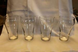 4 Vintage Coca-Cola Glasses 5