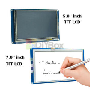 5 0 7 0 inch 800x480 Tft Lcd Display Touch Panel Sd Card Module Ssd1963 Arduino