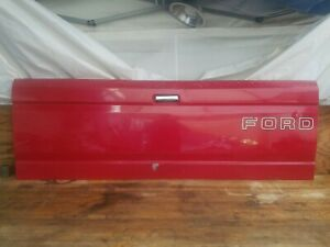 Ford Tailgate 1987 1996 Pickup Truck F150 F250 F350 Red Oem Original Factory