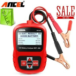 Ancel Bst200 12v Automotive Car Battery Load Tester Digital Analyzer 1100cca Us