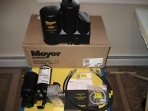 Meyer E 58h Snow Plow Pump Kit New 15995 Unit With Hoses Fittings Cover Manual