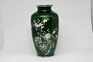 Vintage Japanese Cloisonne Base 7 Inches Tall